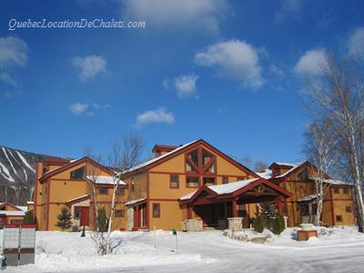 chalet ou condos de ski Mont-Sainte-Anne Qu�bec