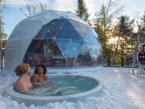 chalet a louer | Séjour romantique, jacuzzi, sauna, chiens de traîneaux, ski