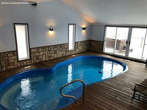chalet a louer | Chalet Divin avec piscine #076