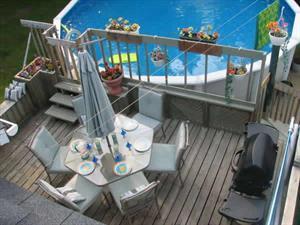 chalet a louer | Chalet Géo avec piscine et 2 kayacs
