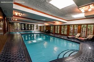 chalet a louer | Chalet Château - piscine intérieure