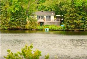 chalet a louer | Chalet Le Zen avec Lac privé