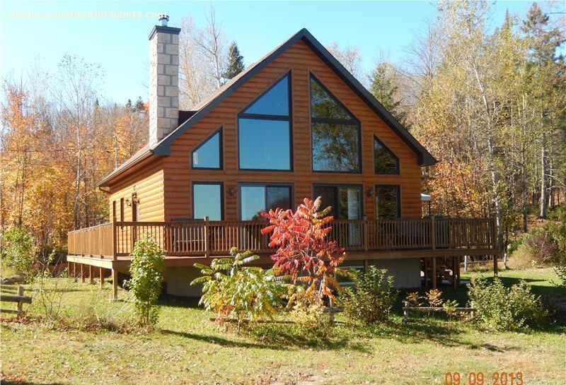 Cottage rental qu bec laurentides morin heights chalet for Laurentian mountains cabin rental
