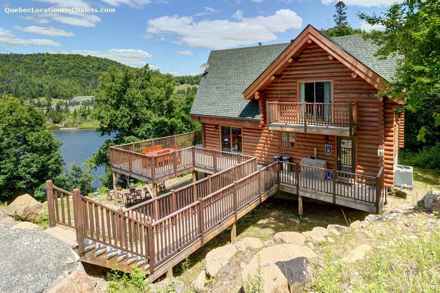 Waterfront Cottage Rentals Lac Rougeaud Vacation Rentals
