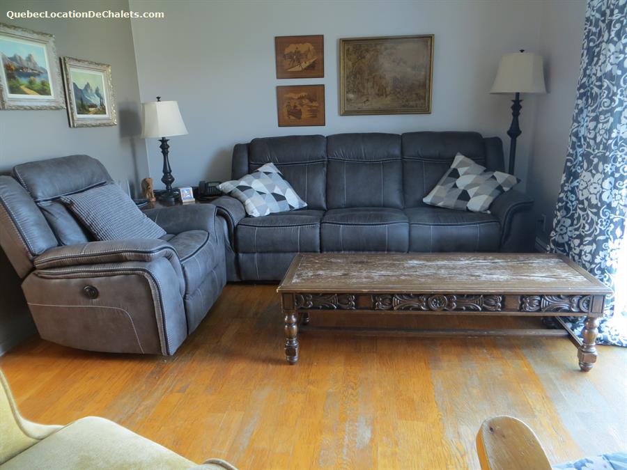 chalet louer les de la madeleine havre aux maisons. Black Bedroom Furniture Sets. Home Design Ideas