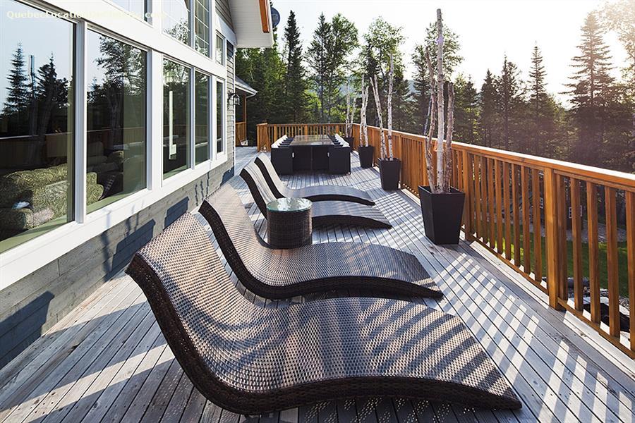 Cottage rental qu bec charlevoix petite rivi re saint Chalet boreal charlevoix