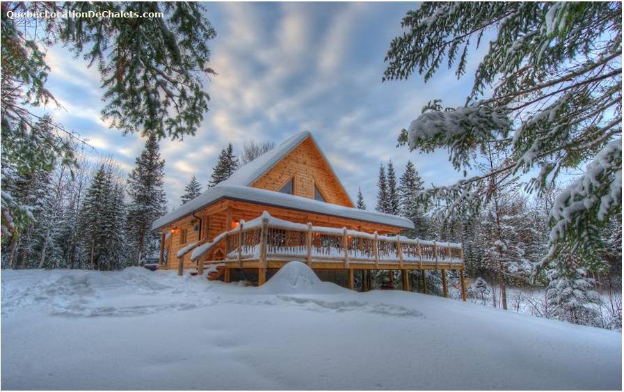 location chalet ski quebec