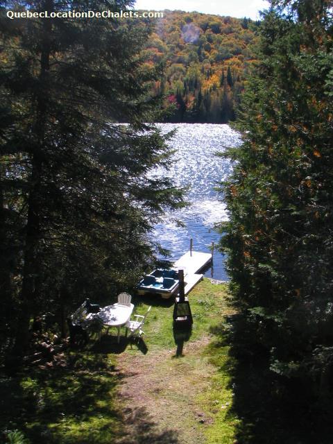 chalet à louer Laurentides, Val-des-Lacs (pic-3)