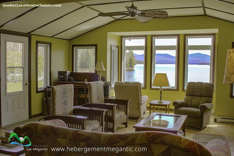 cottage rental Estrie/Cantons-de-l'est, Lac-Mégantic (pic-4)