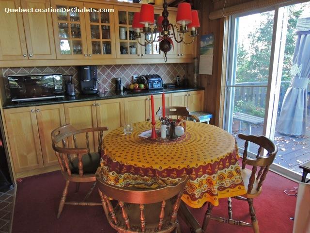 chalet louer lanaudi re saint donat chalet bord du lac ouareau id 7159. Black Bedroom Furniture Sets. Home Design Ideas