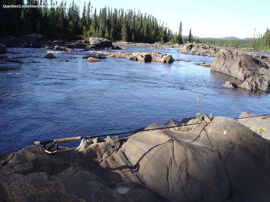 Chalet louer saguenay lac st jean saint ludger de milot for Canada fishing resorts