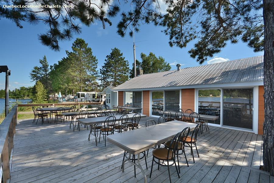 chalet 224 louer outaouais grand remous cing pavillon des pins gris id 7319