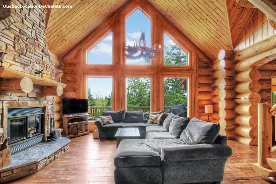 Cottage rentals in morin heights vacation rentals morin - Interieur chalet montagne photo ...