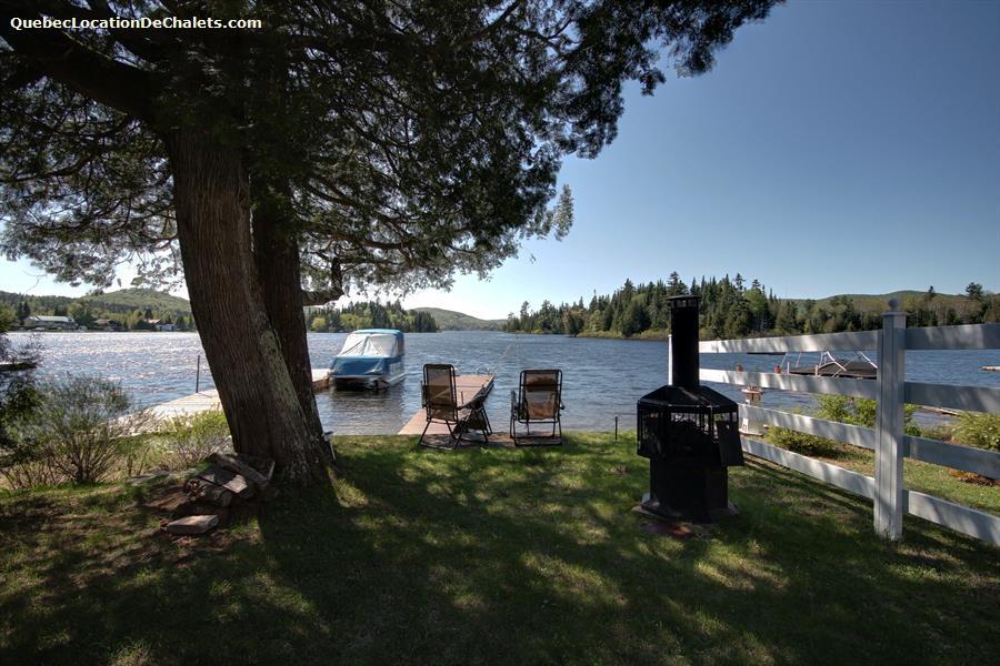 Waterfront Cottage Rentals Lac Saint Joseph Vacation
