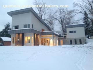 Chalet louer estrie cantons de l 39 est sainte catherine for Maison moderne orford