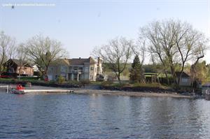 chalets bord de l'eau riverain Sainte-Praxède, Chaudière Appalaches