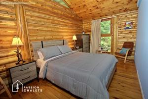 Cottage rental | L'ÉPERVIER *NATURE & LOG CABIN*