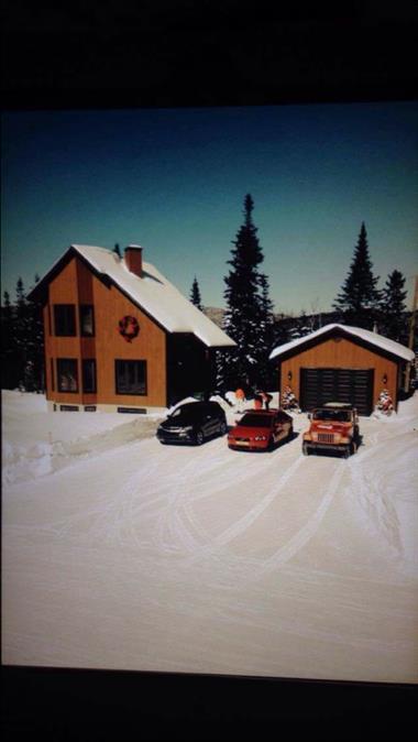 chalets ski-in/ski-out au pied des pentes  Saint-David-De-Falardeau, Saguenay-Lac-St-Jean