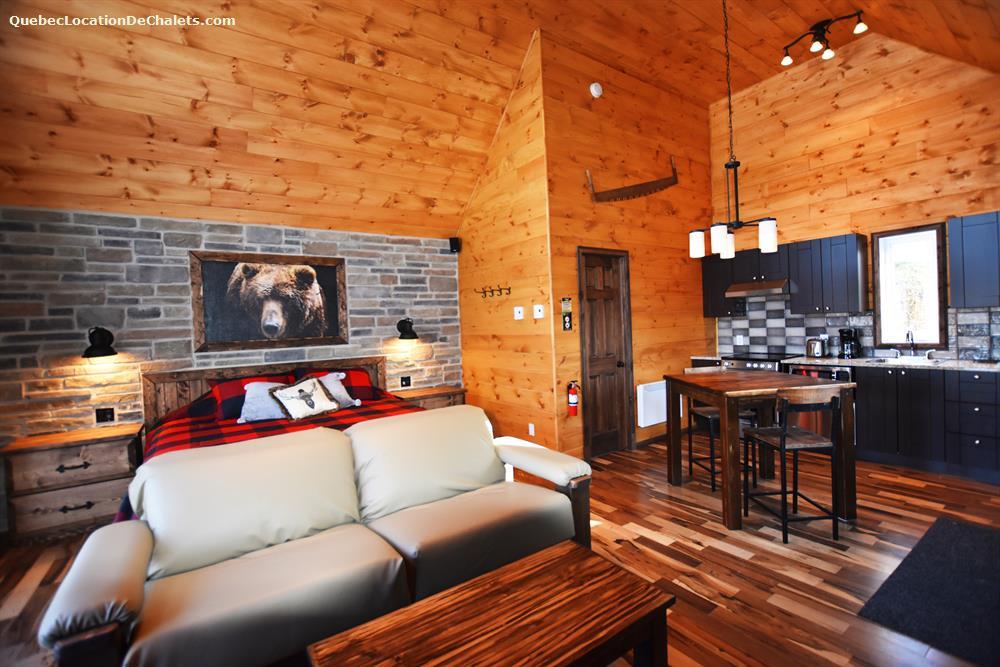 cottage rental Lanaudière, Entrelacs (pic-3)