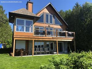 waterfront cottage rentals Sainte-Marguerite-du-Lac-Masson, Laurentides
