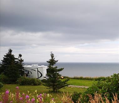 chalets à louer bord de l'eau Cap-des-Rosiers, Gaspésie