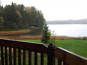 waterfront cottage rentals Kiamika, Laurentides