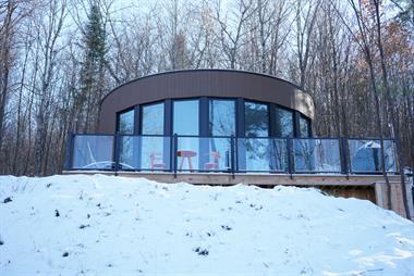 chalets avec spa La Conception, Québec