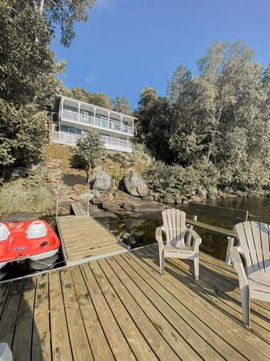 waterfront cottage rentals Rivière-Rouge , Laurentides