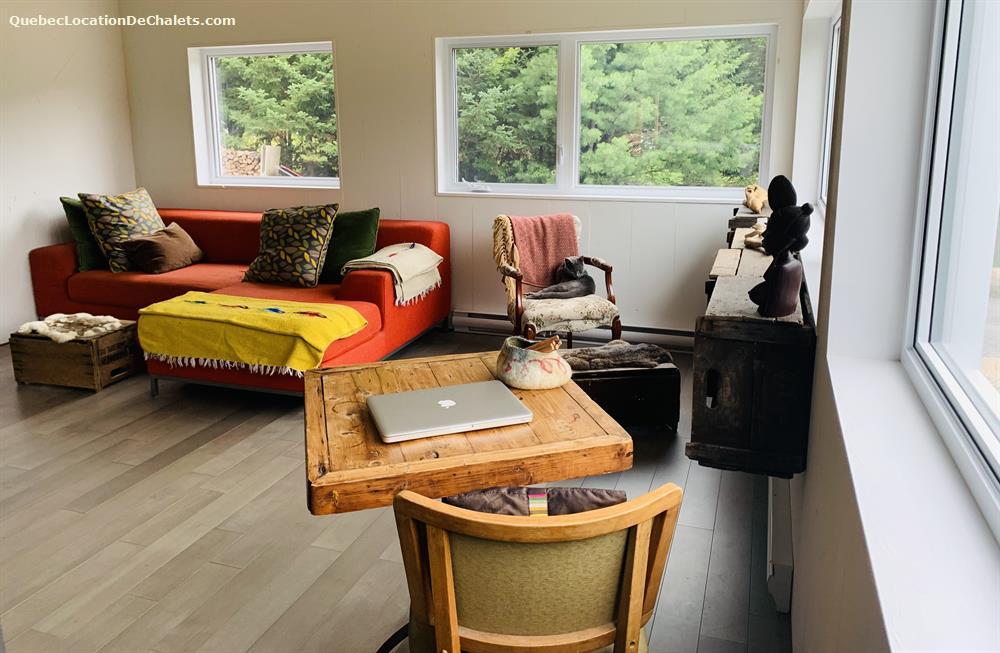 cottage rental Laurentides, Val-David (pic-3)