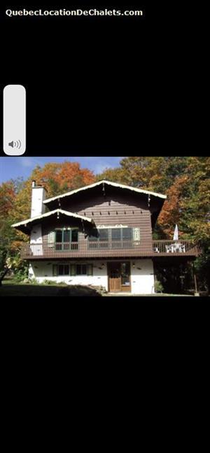 cottage rentals Val-David, Laurentides