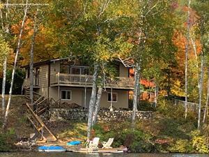 waterfront cottage rentals Amherst, Laurentides
