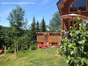 chalets avec spa Métabetchouan-Lac-à-la-Croix, Saguenay-Lac-St-Jean