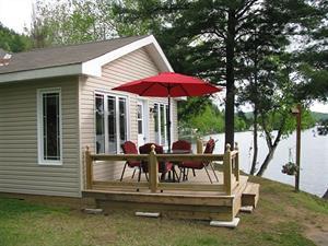 waterfront cottage rentals Val-des-Bois, Outaouais