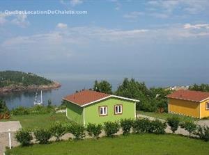 chalets à louer bord de l'eau Les Escoumins, Côte-Nord