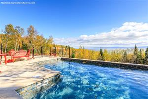 Cottage rental | Cottage RUS-5 with view, pool  and hot tub