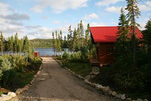 chalet � louer bord de l'eau  Saguenay-Lac-St-Jean
