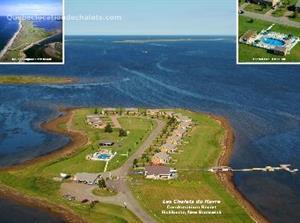 chalets bord de l'eau riverain Richibucto  , Nouveau Brunswick