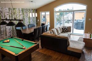 Cottage rental | Le Rassembleur 35 with SPA/Pool table