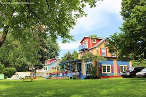 chalets à louer bord de l'eau Venise-en-Québec, Estrie/Cantons-de-l'est