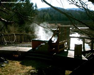 chalets à louer bord de l'eau Mansonville-Canton de Potton, Estrie/Cantons-de-l'est