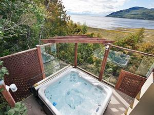 Cottage rental | Chalet SOU-199 with hot tub & view