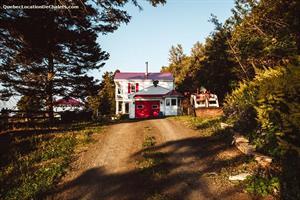 chalets de luxe Les Méchins, Gaspésie