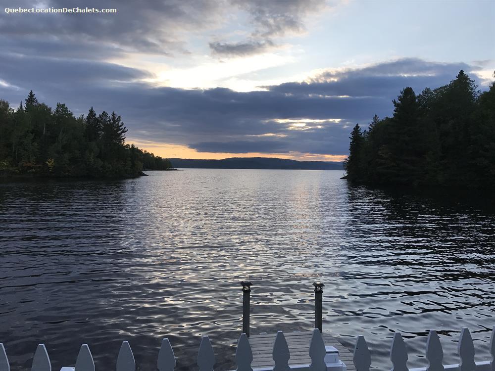 cottage rental Saguenay-Lac-St-Jean, Lac-Kénogami (pic-1)