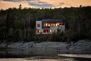 chalets à louer bord de l'eau Rivière-du-Loup, Bas Saint-Laurent