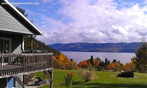 waterfront cottage rentals Sainte-Rose-du-Nord, Saguenay-Lac-St-Jean