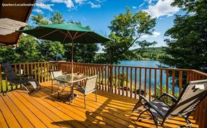 waterfront cottage rentals Sainte-Agathe-des-Monts, Laurentides