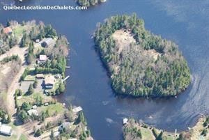 waterfront cottage rentals Saint-Adolphe d'Howard, Laurentides