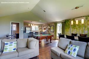 Cottage rental | Le Bon Vivant 17 -SPA/Pool Table