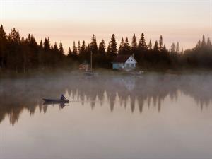 chalet bord de l'eau riverain Saint-Paul de Montminy, Chaudière Appalaches