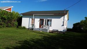 chalet à louer Sainte-Flavie, Gaspésie